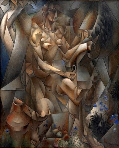 Jean Metzinger - La Femme au Cheval - 1912