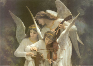 william adolphe bouguereau angels playing violin