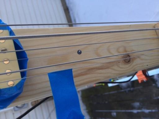 Aeolian Harp detail
