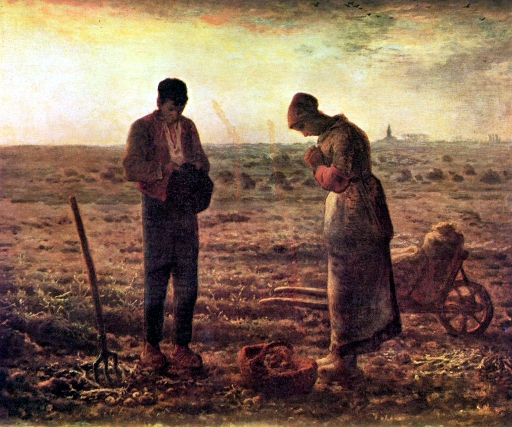 L'Angelus is an oil painting by French painter Jean-François Millet, completed in 1859.