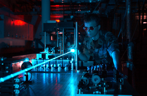 Military_laser_experimentras